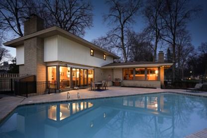 Twilight Poolside