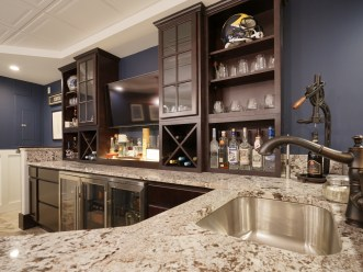 Spectacular Wet Bar