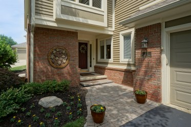 Front Walk Pavers 2014