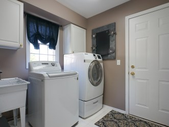 First Floor Laundry and Mud Room