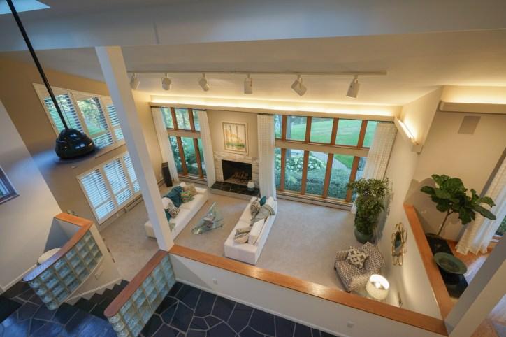 Loft Overlooking Living Room