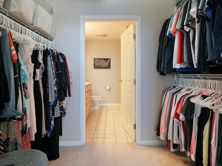 Walk Through Master Closet