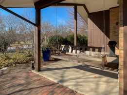 Covered Side Porch