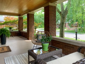 Spacious Covered Front Porch