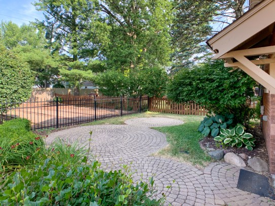 Patio and Fenced Yard