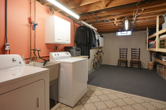 Private Basement Laundry and Storage