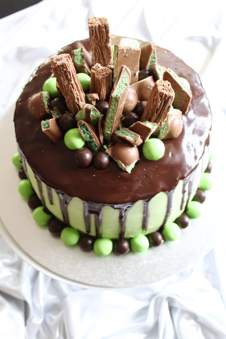 Chocolate  Mint Drip Cake  Bakerholics Anonymous