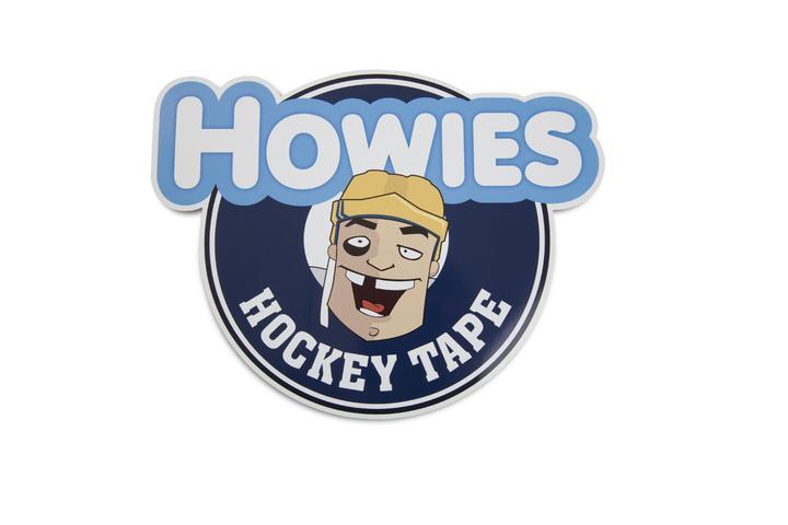 Cartoon of hockey player