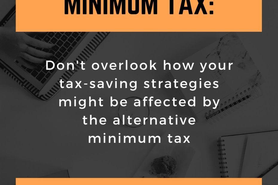 text the alternative minimum tax