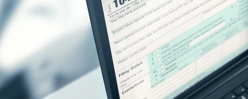 1040 tax return