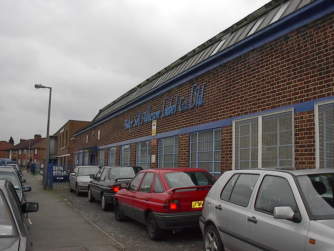 Sunderland Road factory in Walthamstow
