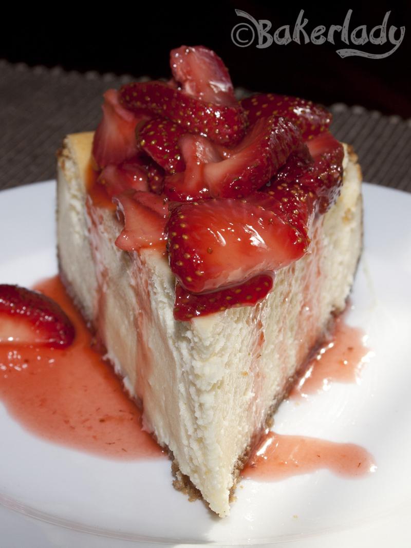 New York Cheesecake  Bakerlady