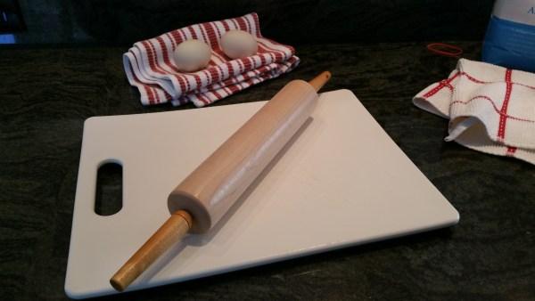 Baking, Wood Rolling Pin