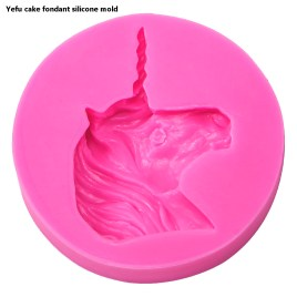 Unicorn Fondant Mold