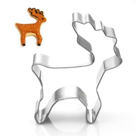 Christmas Cookie Cutter Mold Deer Shaped