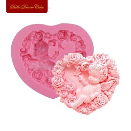 Rose Angel Fondant Mold
