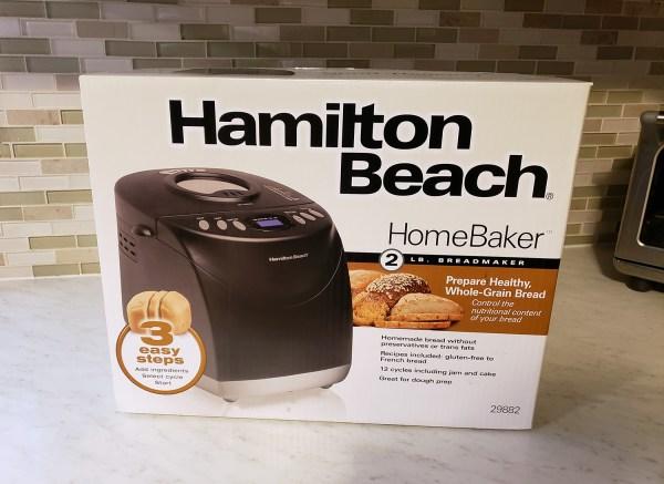 Hamilton Beach Homebaker 29882 Bread Maker - Bakerology