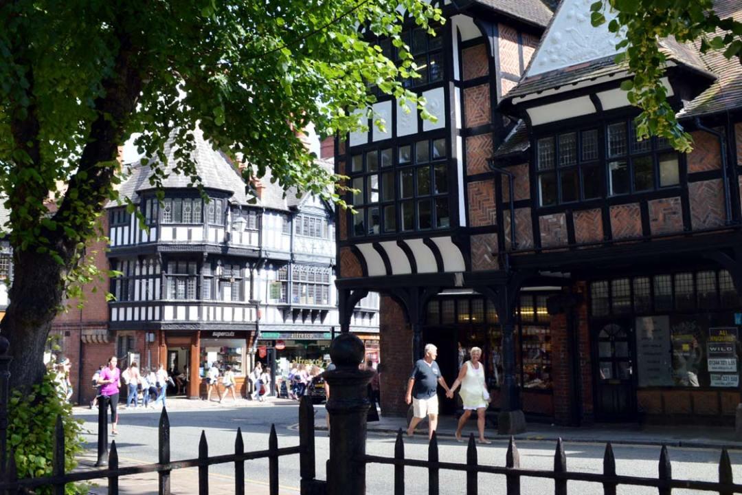 Photo: Chester city centre