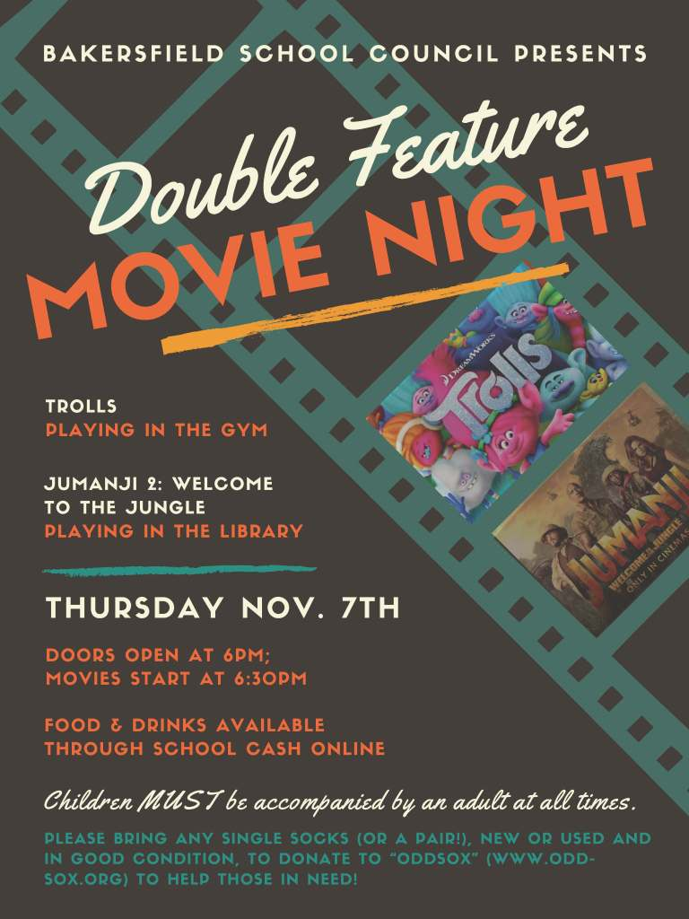 BPS Movie Night v.2 - Nov. 7