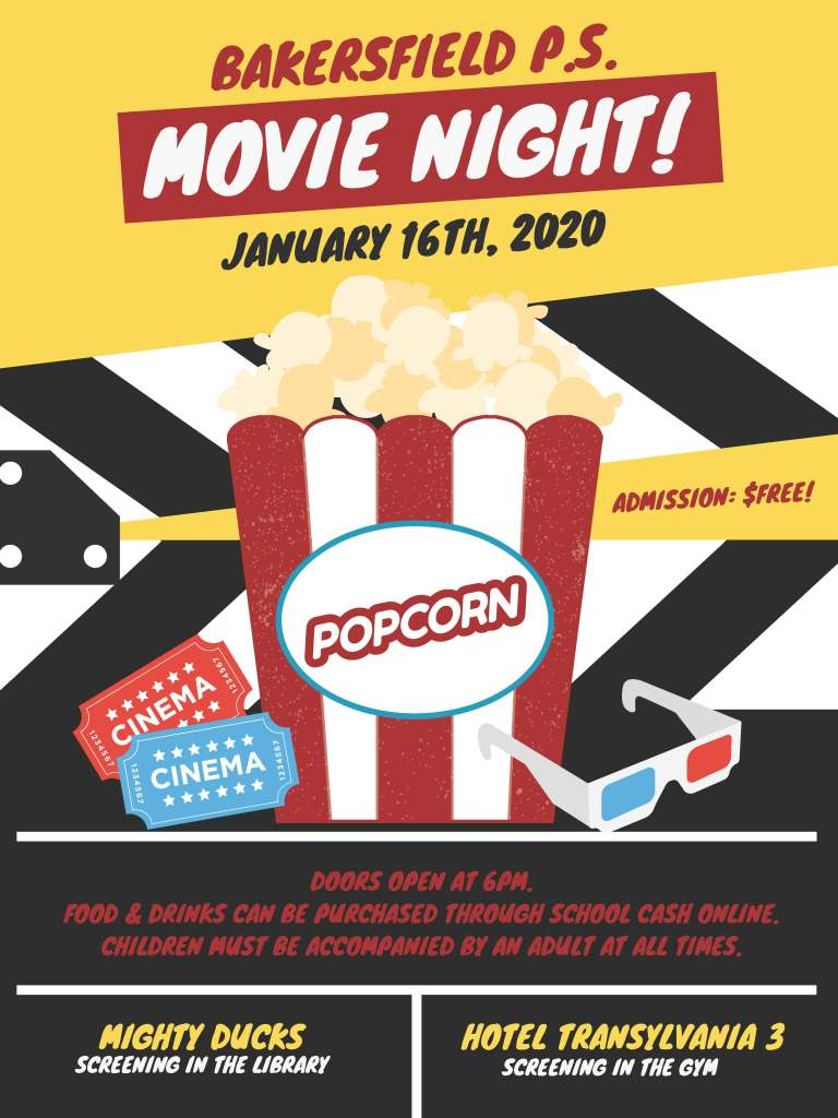 BPS Movie Night - Jan. 16 2020