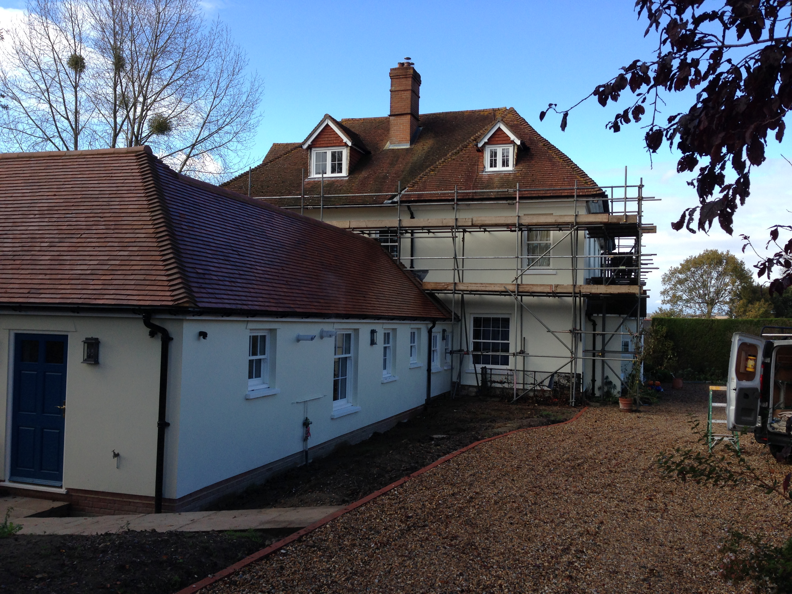 external decorations decorating painting throughout the meon valley hampshire petersfield alton by Baker Southern Ltd decorators and fine finishers