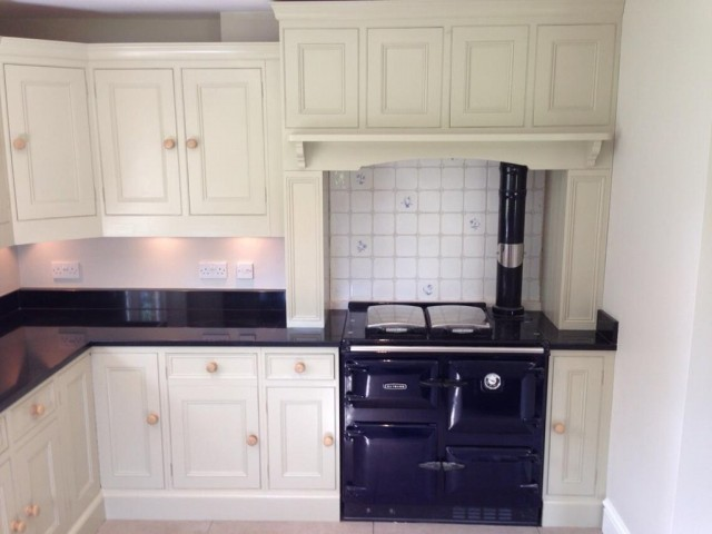 After - Kitchen cabinet preparation and painting in Froxfield near Petersfield Hampshire