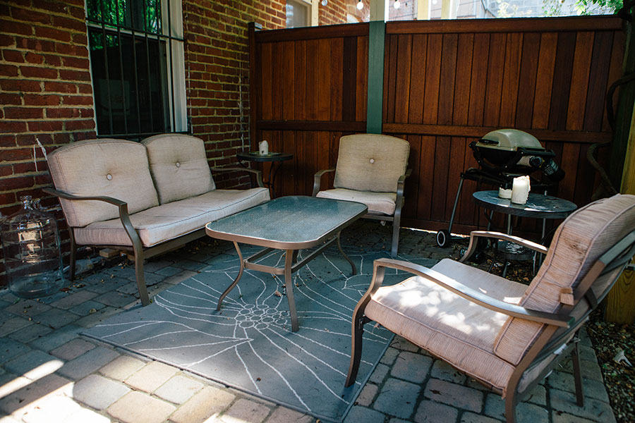Patio-Makeover-Fabric-Spray-Paint-1 Patio Makeover with Fabric Spray Paint Home & Design Our Life
