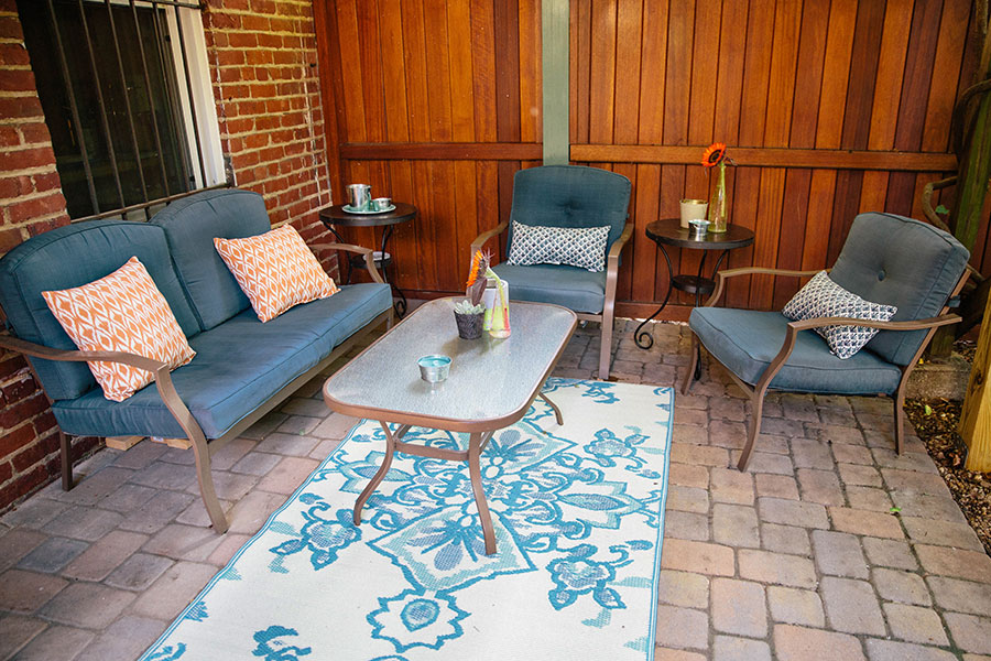 Patio-Makeover-Fabric-Spray-Paint-6 Patio Makeover with Fabric Spray Paint Home & Design Our Life