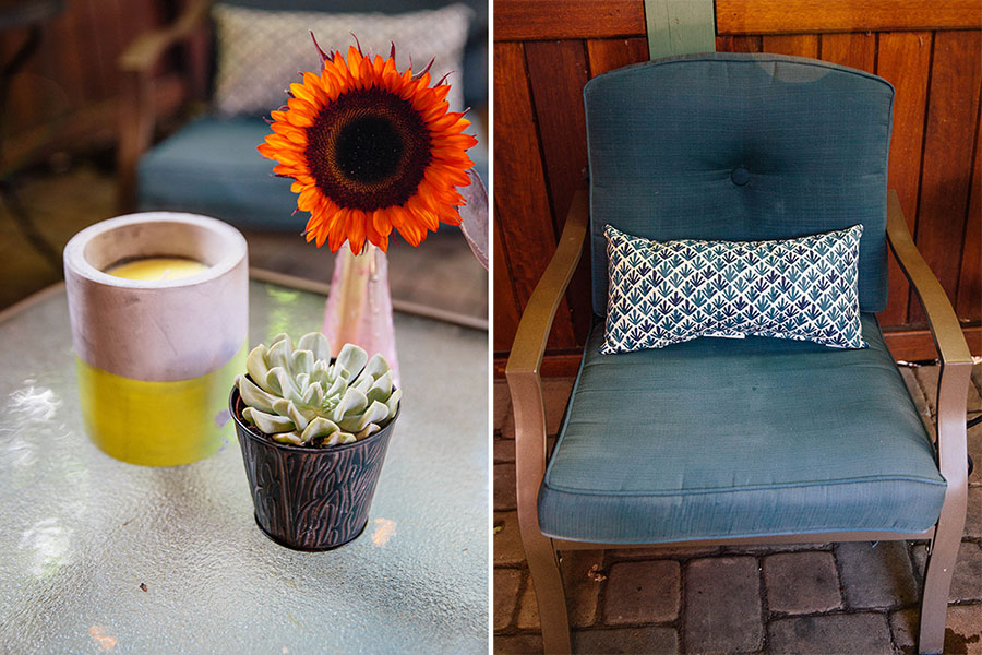 Patio-Makeover-Fabric-Spray-Paint-8 Patio Makeover with Fabric Spray Paint Home & Design Our Life