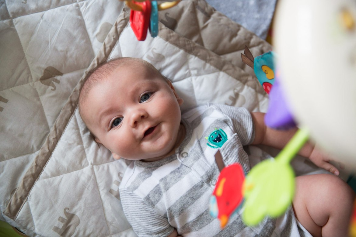 coen-play-gym-1 10 Must Have Items for Your 3 to 6 Month Old Baby Feature Our Family Our Life