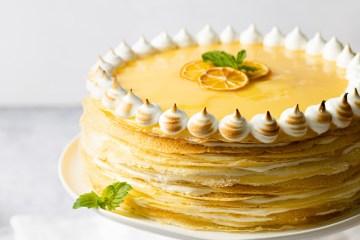 Lemon Crepe Cake