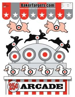 arcade game target