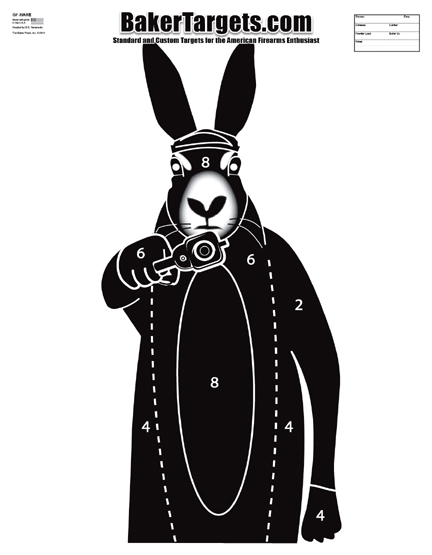 """bad """"hare"""" day target"""