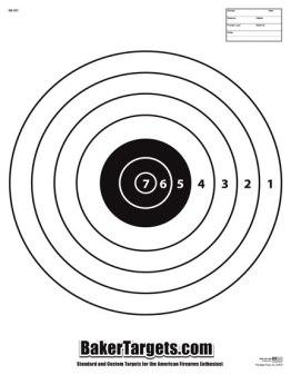 sr1 bulls eye target