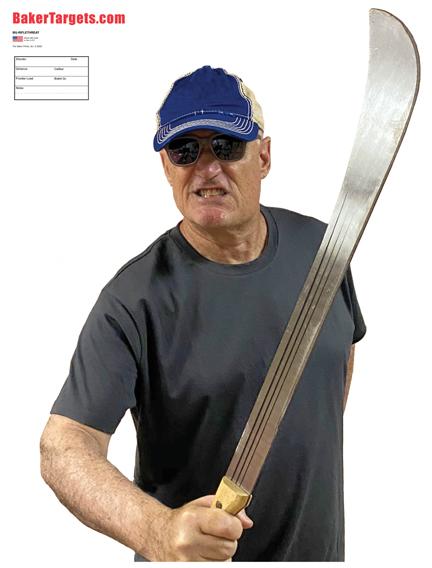 machete threat target