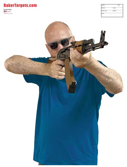 rifle threat target