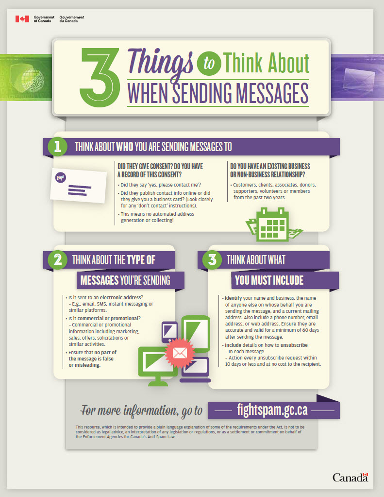3 Things to think about when sending messages - Newsletter Tips