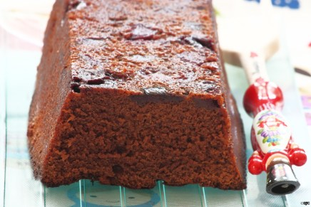 עוגת שוקו-דובדבן