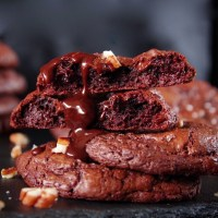 הטור של אירנה: עוגיות פאדג' שוקולד ופקאן ללא גלוטן