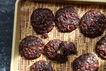 עוגיות בראוניז ללא קמח