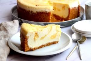 עוגת גבינה ולימון