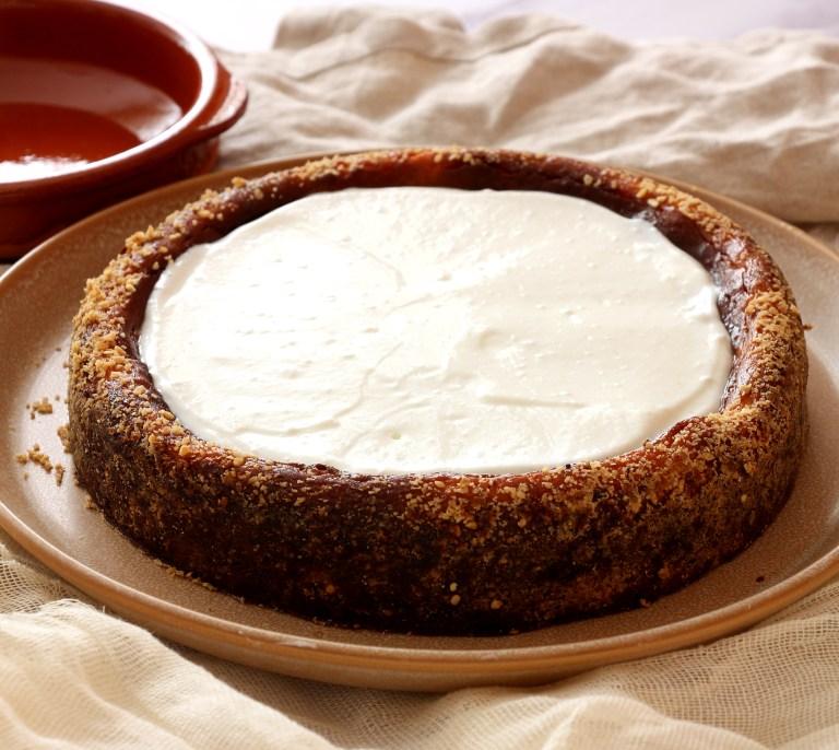 עוגת ריקוטה אפויה