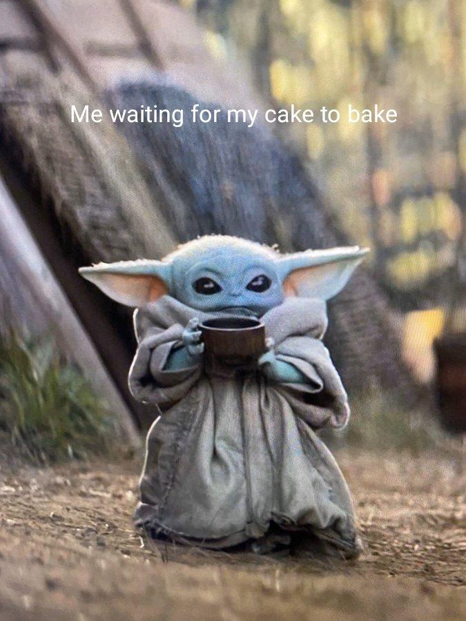 Baby Yoda Lion King : Gluten, Bakery