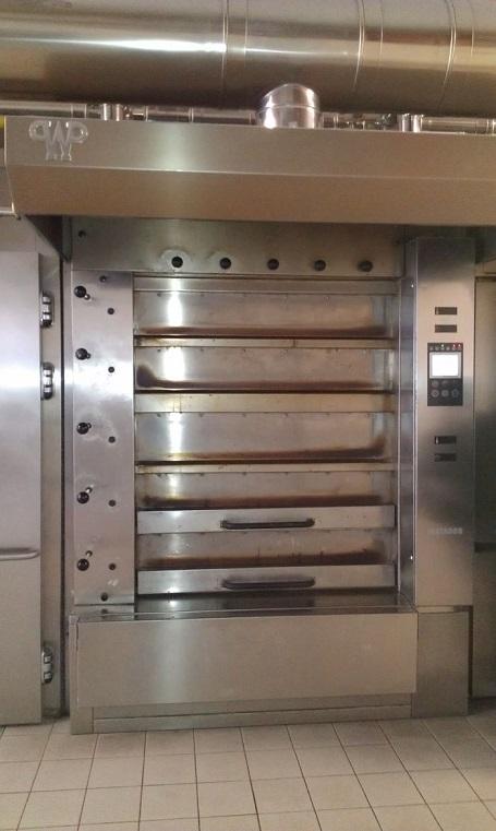 WP Matador 5 Deck Ovens Model MD 125 C 52 Pre Owned Gas