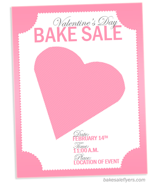 Bake Sale Flyers Free Flyer Designs
