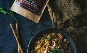 Mediterranean Chicken Fried-rice (Quinoa)
