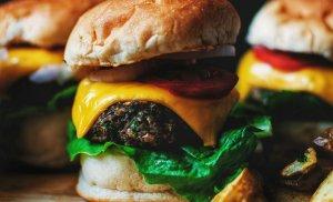 Veggie Burgers (that taste AMAZING! – I Promise) (Vegan options)