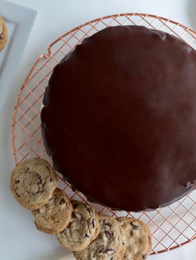 Chocolate Chip Cookie Icebox Cake