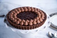 Caramel Ganache Chocolate Tart