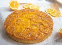 Meyer Lemon Upside-Down Cake